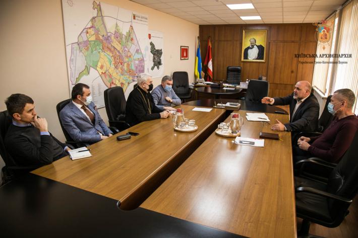 Єпископ Йосиф Мілян зустрівся з мером міста Біла Церква для обговорення земельного питання місцевої громади УГКЦ