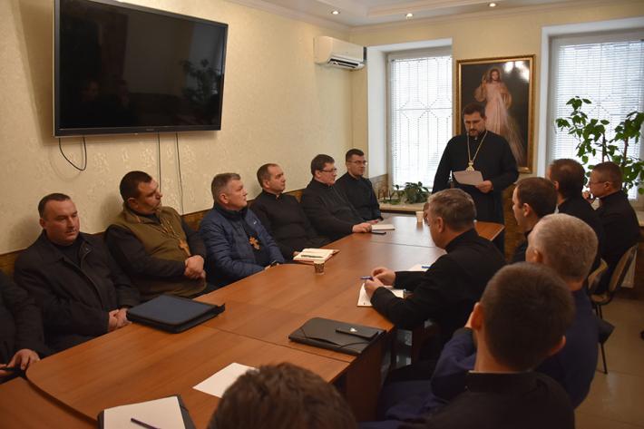 В Одесі провели збори пресвітерів Одеського та Миколаївського деканатів
