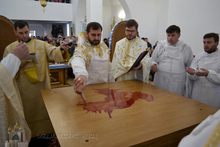 У Зміївці на Херсонщині освятили новий храм УГКЦ