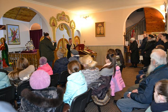 Великопісні реколекції на парафії святого апостола Андрія Первозванного м. Одеса