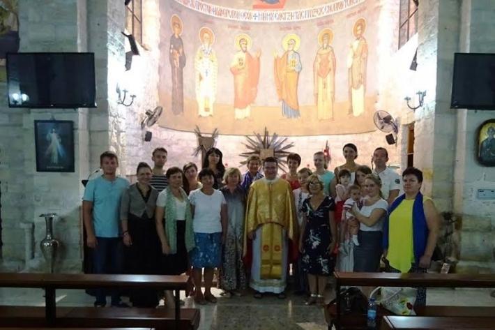Слідами апостолів: Божественна Літургія з греко-католиками Кіпру