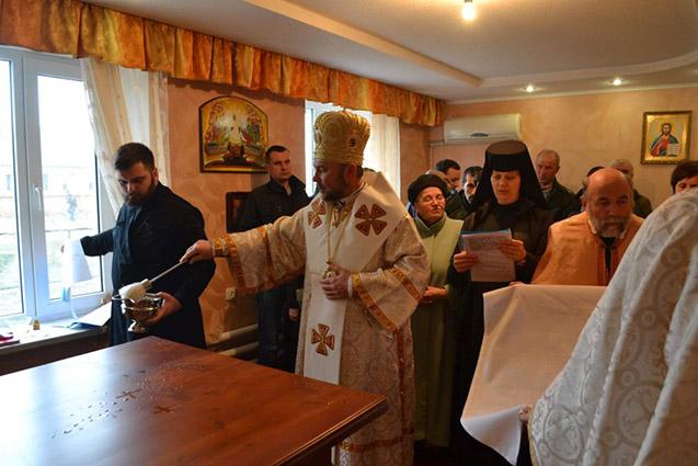 У м. Золочів, що на Харківщині, освятили каплицю