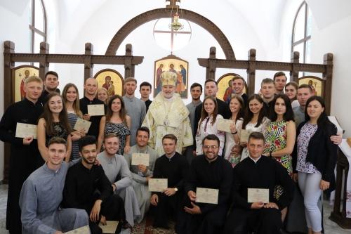 Владика Йосиф Мілян учасникам спецкурсу ПМВ: «Будьте добрими священниками. Любіть Бога і людей»
