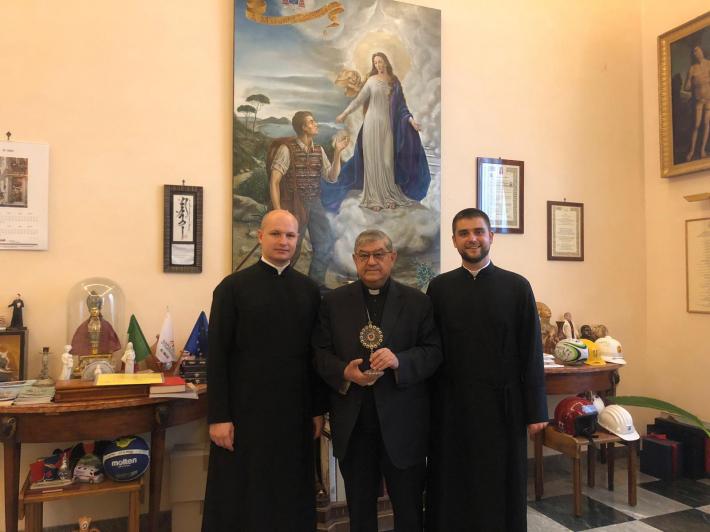 Кардинал Неаполя передав для УГКЦ мощі св. Януарія
