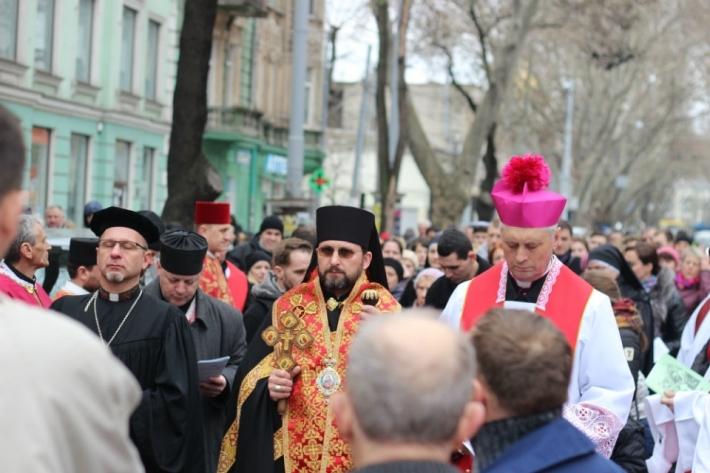 В Одесі вперше провели Хресну дорогу