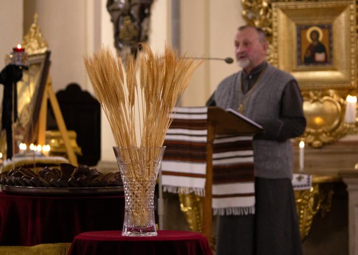 В архикатедральному соборі Святого Юра у Львові відбувся вечір пам'яті жертв Голодомору