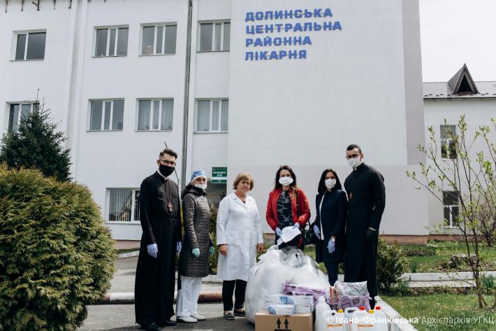 Чергову допомогу від Івано-Франківської архиєпархії УГКЦ отримали дві районні лікарні