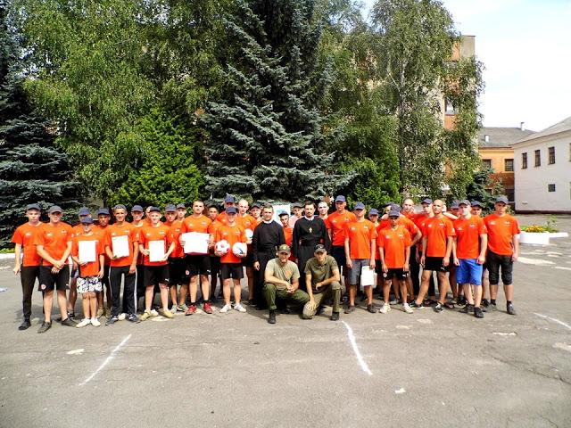 Монахи й волонтери з м. Ковеля провели «Козацький гарт