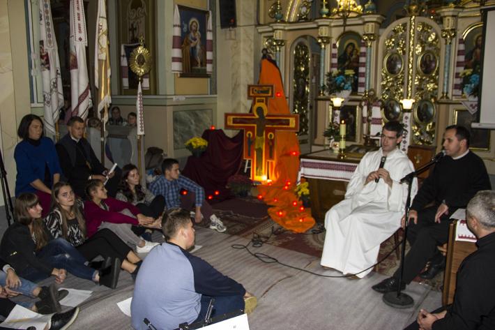 Молитва ТЕЗЕ і зустріч з бр. Бенуа в Стрию