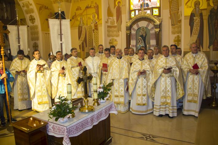 Священничі родини Стрийської єпархії здійснили прощу до Перемишлян