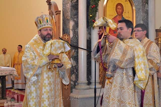 Блаженніший Святослав посвятив український народ під покров Пресвятої Богородиці