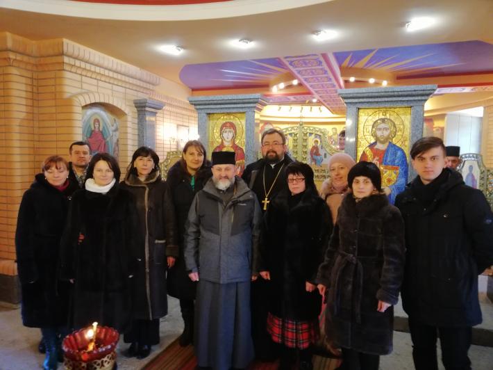 Владика Ігор (Возьняк) відвідав парафію святого Василія Великого у Житомирі
