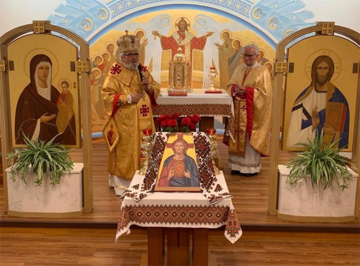 У Вінніпезькому монастирі отців василіан відзначили ювілей священства о. Ісидора Дзядика