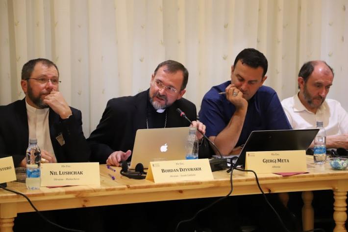«Молитвою і солідарністю долати цинізм політиків та егоїзм бізнесу», – владика Богдан до представників Єпископських Конференцій Європи