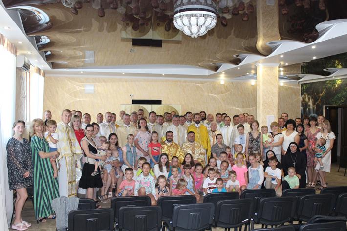 Реколекції для священичих родин Одеського екзархату