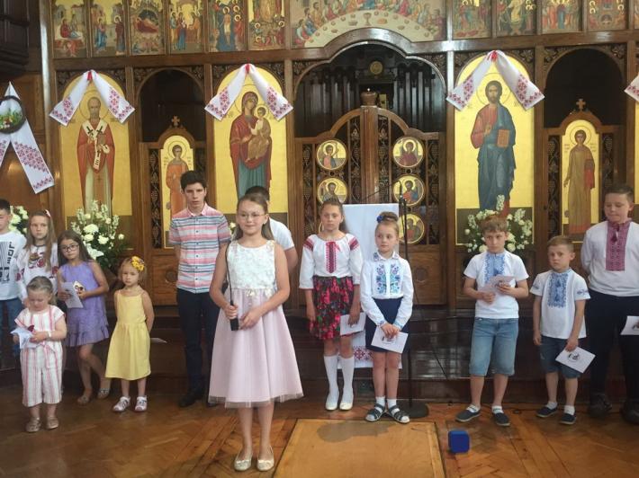 У катедрі Пресвятої родини в Лондоні відсвяткували День тата
