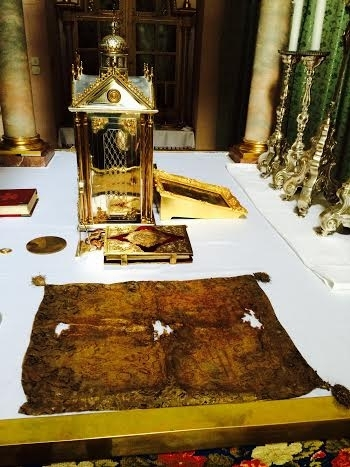 Парафія Святої Варвари у Відні передала для греко-католиків Білорусі реліквію святого Йосафата Кунцевича