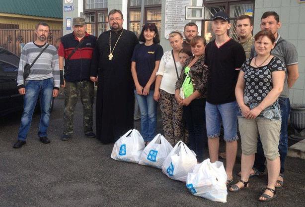 Соціальне служіння греко-католиків у Радомишлі