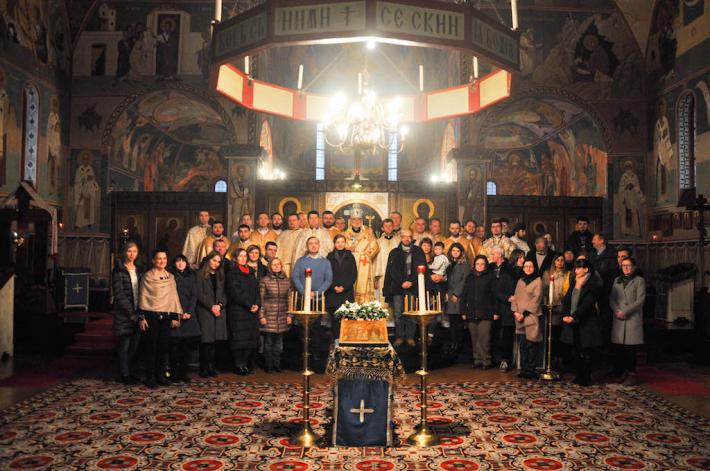 Архиєпископ Циріл Василь, секретар Конгрегації для Східних Церков, узяв участь у соборі Паризької єпархії