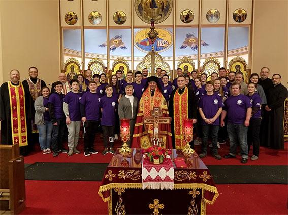 В Єпархії святого Йосафата в Пармі (США) відбулися великопісні реколекції для молоді