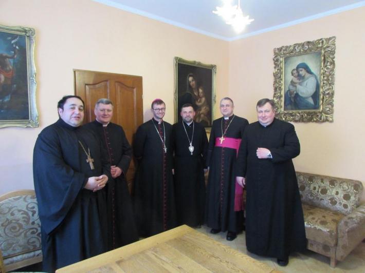 Чернівецьку єпархію відвідала делегація РКЦ