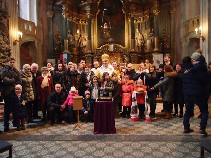 Голова ПМВ здійснив душпастирський візит до українців Будапешта і очолив недільну Літургію