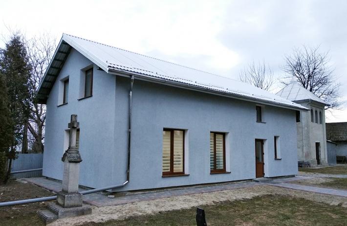 Для дітей села Заріччя Стрийської єпархії збудували нову Катехитичну школу