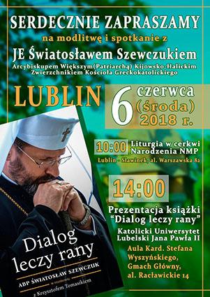 """У Любліні презентують книгу про Блаженнішого Святослава """"Діалог лікує рани"""""""