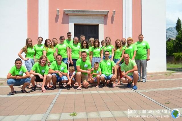 Вперше молодь Івано-Франківської архиєпархії таборує в Хорватії