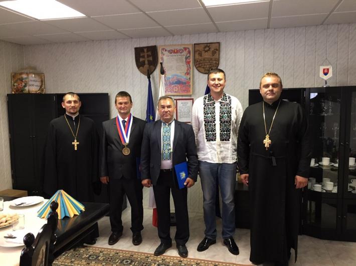 Представники Тернопільсько-Зборівської архиєпархії здійснили робочу поїздку до Словаччини