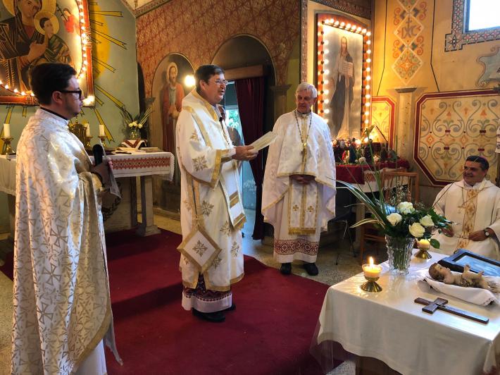 Глава УГКЦ привітав генерального вікарія єпархії Покрови Пресвятої Богородиці в Буенос-Айресі
