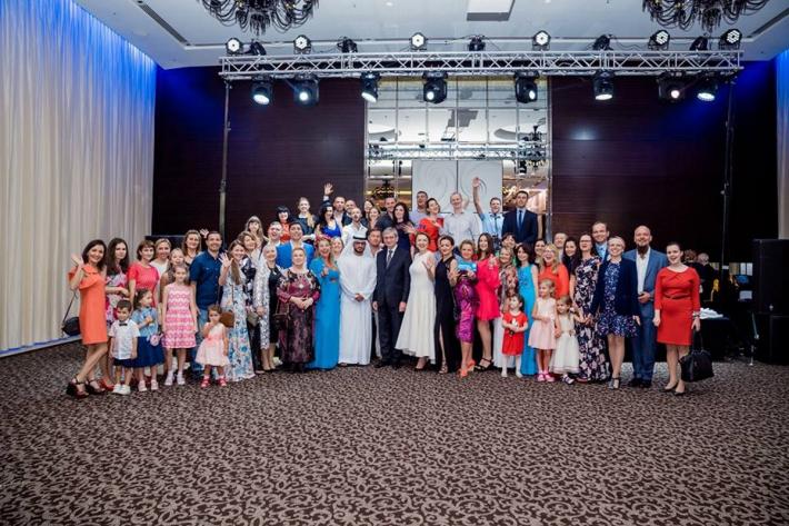 Львівські капелани завітали із благословенням для Українського клубу до ОАЕ