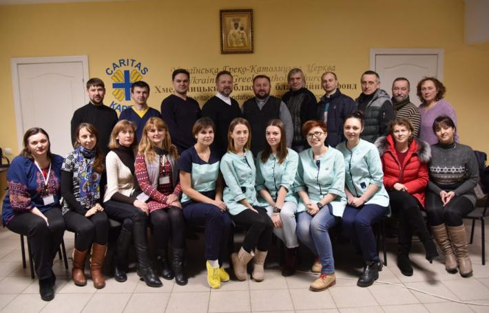 Віце-президент Карітасу України відвідав БФ «Карітас-Хмельницький»