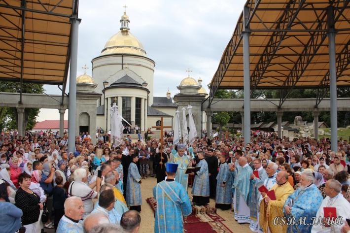 У Гошеві молилися до Богородиці з нагоди свята Гошівської чудотворної ікони Божої Матері