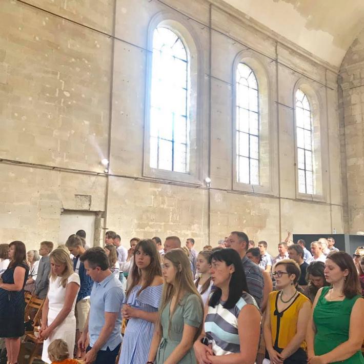 Молода греко-католицька громада м. Санліс утретє відсвяткувала храмове свято
