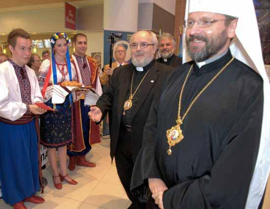 Глава УГКЦ привітав владику Лаврентія Гуцуляка з ювілеєм