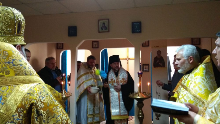 У Харківському військовому госпіталі освятили міжконфесійну каплицю