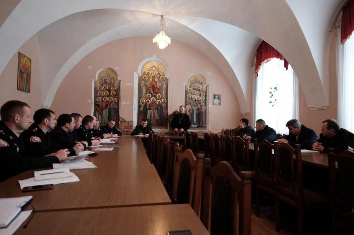 Священики Сокальсько-Жовківської єпархії зустрілися з працівниками Державної служби надзвичайних ситуацій
