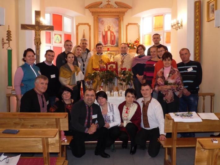 Уперше в Одесі відбулися дні духовної віднови для подружніх пар