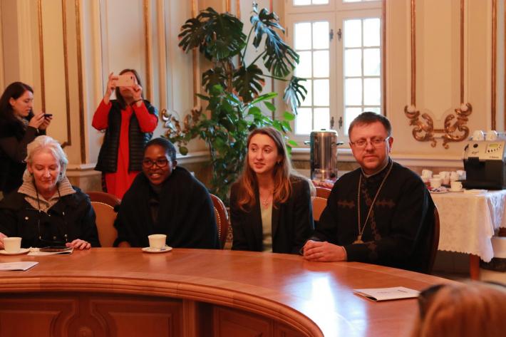 Представники міжнародної організації «Renate» відвідали Свято-Юрську гору