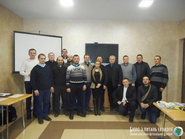 Четверту квартальну зустріч єпархіальних та екзархальних референтів Бюро УГКЦ з питань екології провели в Івано-Франківську