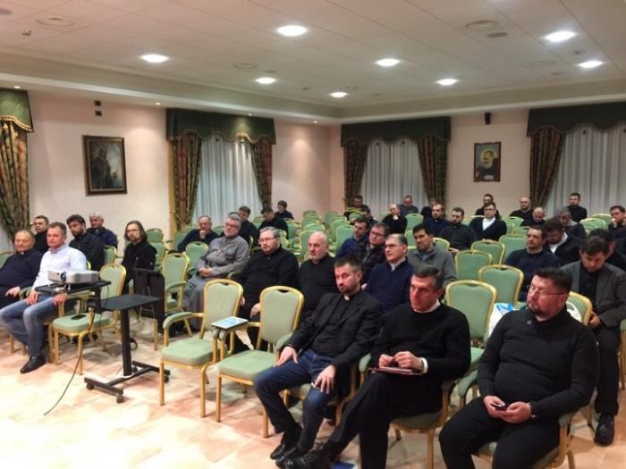 Представники Пасторально-міграційного відділу ознайомили священиків із проектом програми II Форуму мігрантів УГКЦ