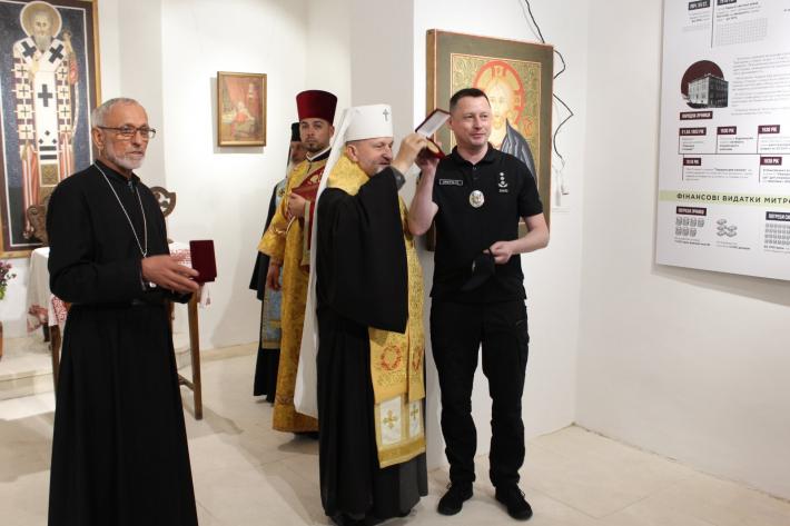 З відкриття першого Музею Андрея Шептицького в Україні