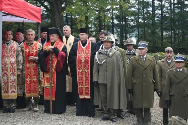 Капелани з України взяли участь у молитовному поминанні загиблих в Карпатсько-Дуклінській операції 1944-го