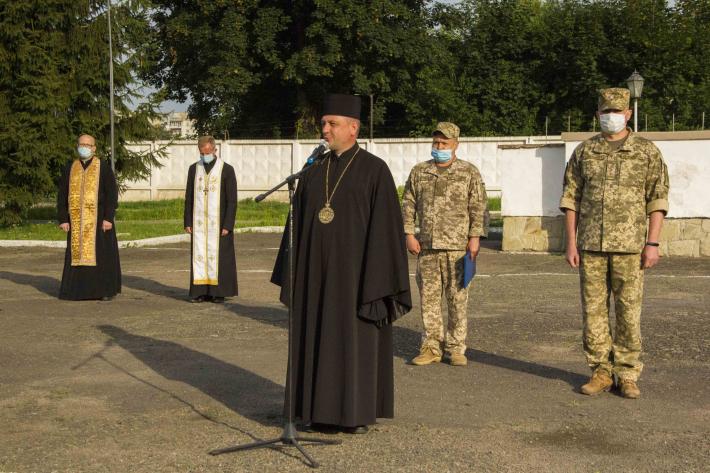 Владика Богдан Манишин взяв участь у відзначенні Дня «захисників українського неба»