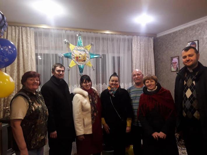 Коляда в батьків загиблих захисників України