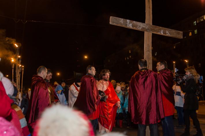 УМХ запрошує львів'ян на театралізовану містерію «Через Хрест до Воскресіння»