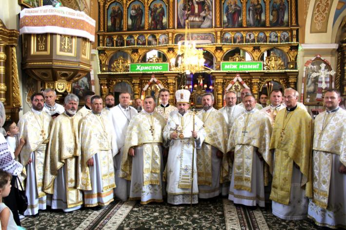 У селищі Розділ Стрийської єпархії відсвяткували 125-річчя храму