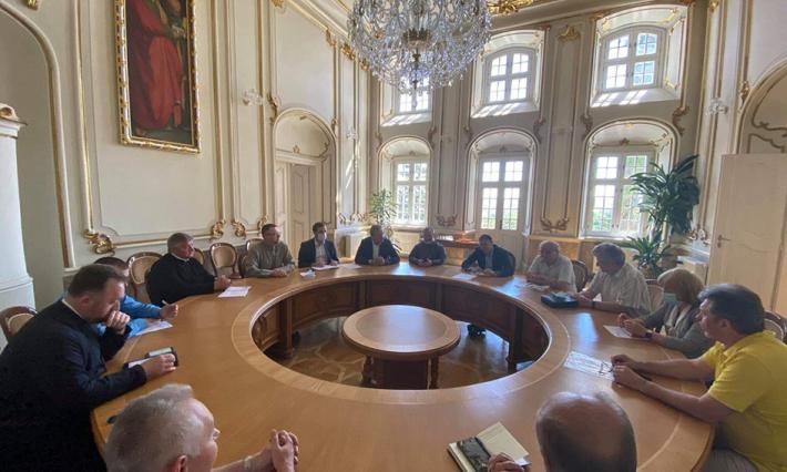 Про реконструкцію Свято-Юрського комплексу говорили з головою ЛОДА та мером Львова