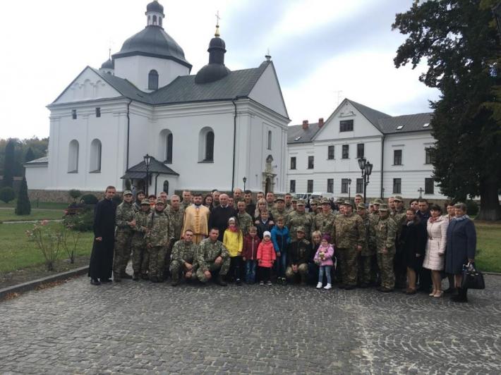 Семінаристи організували паломництво для військових